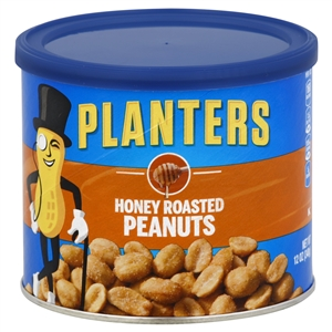 Kraft Nabisco Planters Honey Roasted Peanut - 12 Oz.