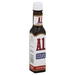 Kraft Nabisco A1 Steak Sauce Label Retail Only - 5 Oz.