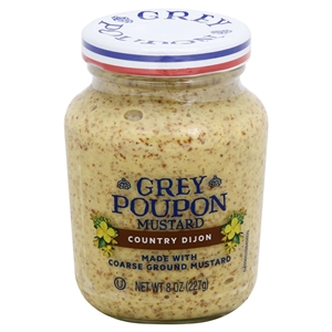 Grey Poupon Mustard Country - 8 oz.