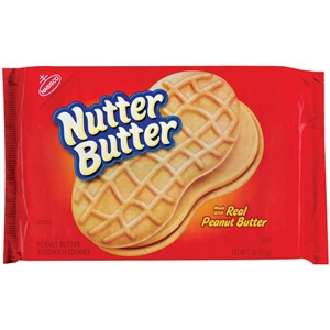 Kraft Nabisco Nutter Butter Cookie - 16 Oz.