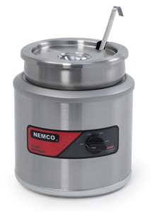 Nemco Food Countertop Round Warmer - 7 Qt.