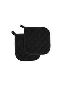 Arden Benhar Black Chef Terry 8 in. Pot Holder