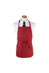 Arden Benhar Red DuraServe 3 Pocket Chef Bib Apron