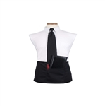 Arden Benhar DuraServe Black Waist 3 Pocket Chef Apron