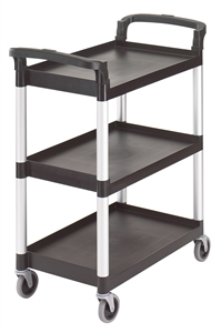 Cambro Cart Capacity 3 Shelf Black