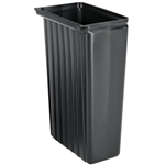 Cambro Trash Container Black 8 Gal.