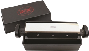 Tablecraft Three Way Sharpening Stone - 8 in.