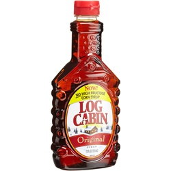 Pinnacle Log Cabin Regular Syrup - 24 Oz.