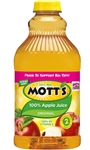 Motts Regular Apple Juice Retail - 64 Oz.