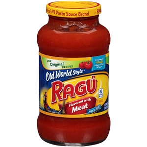 Unilever Best Foods Ragu Meat Flavored Sauce - 26 oz.