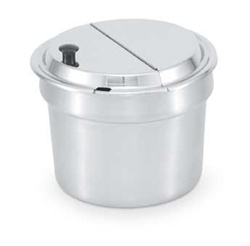 Vollrath Kool Touch Hinged Inset Cover - 10.5 in.