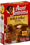 Pepsico Aunt Jemima Whole Wheat Pancake Mix - 35 Oz.