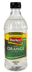 Ach Food Durkee Orange Pure Extract 16 oz.