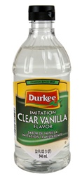 Ach Food Durkee Extract 32 oz. Clear Vanilla Imitation