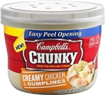 Campbell's Chunky Chicken With Dumpling Microwavable Soup 15.25 Oz.