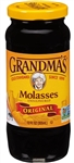 B and G Foods Grandmas Original Unsulphured 12 oz. Gold Molasses