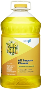 Clorox Commercial Solutions Lemon Fresh Pine- Sol Cleaner - 144 Oz.