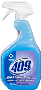 Clorox Commercial 409 Glass and Surface Professional Use Cleaner 32 Oz.