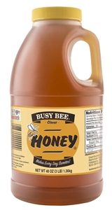 Golden Heritage Honey Busy Bee Clover Jug - 48 Oz.
