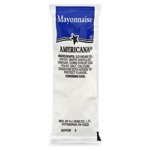 Portion Pac Americana Mayonnaise - 9 Grm.