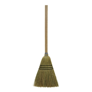 O-Cedar Corn Lobby Broom Wood Handle