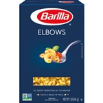 Barilla Elbows Short Shape Pasta 16 oz.
