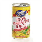 Clement Pappas Rubykist Pineapple Aluminum Can Juice - 5.5 Oz.