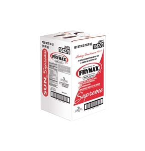 Stratas Foods Frymax Sun Supreme Deep Frying Oil - 35 Lb.