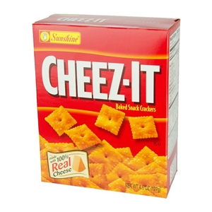 Kelloggs Sunshine Cheez It Pack Cracker - 4.5 Oz.