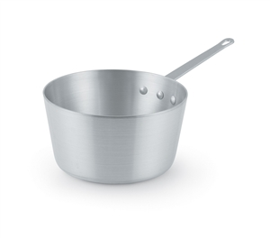 Vollrath Natural Finish Sauce Pan - 10 Qt.