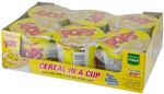 Kelloggs Corn Pops Cereal In a Cup - 1.5 Oz.