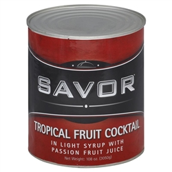Imports Fruit Salad Tropical In Light Syrup and Passion Fruit Juice