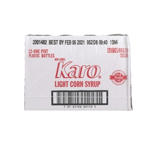 Ach Food Karo Red Label 16 oz. Light Syrup