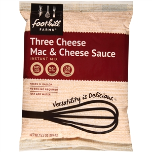 Precision Foods Tuf Three Cheese Macaroni and Cheese Sauce Mix 15.5 Oz.
