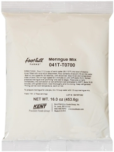 Precision Foods Tuf Dessert Meringue Mix - 16 Oz.