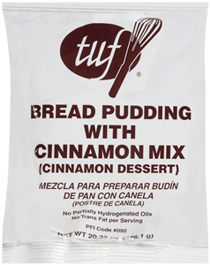 Precision Foods Tuf Bread Pudding With Cinnamon Dessert 20.32 Oz.