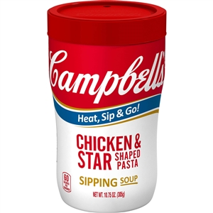 Campbells Soup On The Go Chicken and Stars - 10.75 Oz.