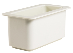 Cambro Coldfest Food Pan One Third Size White 6 in.