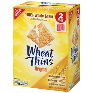 Wheat Thins Cracker - 2.5 Lb.