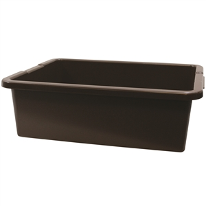 Heavy Duty Bus Tub Tote Brown - 5.5 Gal.