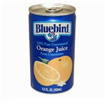 Florida Natural Bluebird Unsweetened Orange Juice - 5.5 Oz.