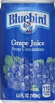 Florida Natural Bluebird Grape Juice - 5.5 Oz.