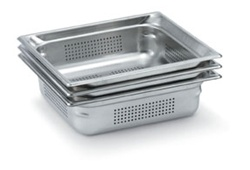 Vollrath Super Pan III Full Size Perforated Pan - 4 in.