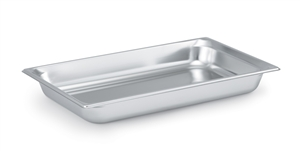 Vollrath Super Pan III Stainless Steel Full Size Deep Pan - 4 in.