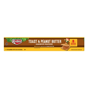 Kelloggs Keebler Toasted and Peanut Butter Cracker - 1.8 Oz.