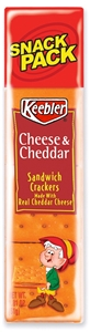 Kelloggs Keebler Cheese and Cheddar Sandwich Cracker