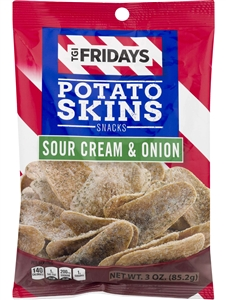 The Inventure Group TGI Fridays Sour Cream and Onion Potato Skins 3 Oz.