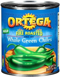 Ortega Whole Green Chiles - 27 oz.