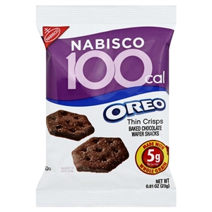 Kraft Nabisco Oreo Cookies 100 Calorie Pack - 0.81 Oz.