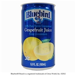Bluebird From Concentrate Shelf Stable White Grapefruit Juice - 5.5 Fl. Oz.